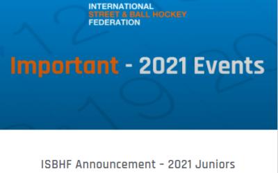 ISBHF Announcement – 2021 Juniors