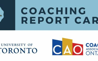 ONTARIO COACHING REPORT CARD