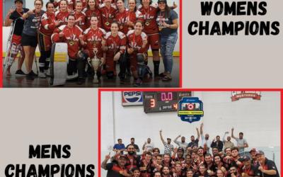 Congratulations !!!!!! Ottawa Capitals New National Champions Women's A Division & Congratulations !!!!!! Brampton Midnight Express New National Champions Men's A Division